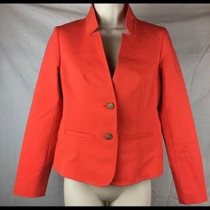 Ann Taylor LOFT collarless jacket Career Cocktail